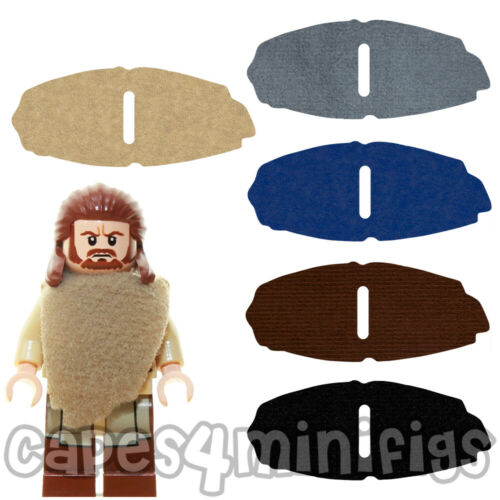 3 Custom Capes for Lego Starwars Qui-Gon Jinn Minifigure CAPE ONLY NO MINIFIG