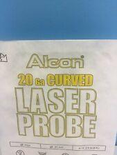 Alcon 20ga Curved Illuminated Laser Probe 750989 En Gauge Sterile 2017 Dated
