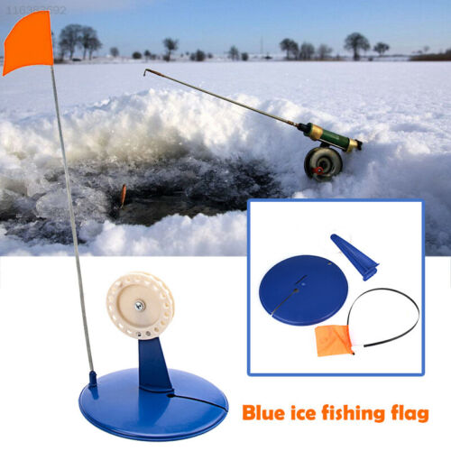 0913 ABS Winter Fishing Flag Ice Fishing Flag Tip Up Fishing Gear Practical