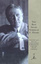 Modern Library: The Best Short Stories of O. Henry by O. Henry (1994, Hardcover)