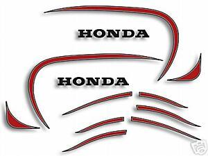 HONDA XL250S RESTORATION DECAL SET