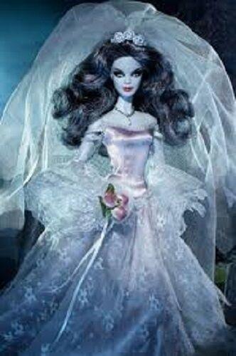 2015 embrujada Belleza Zombie Barbie directa exclusivos, nuevos en embarcador