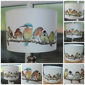 New in laura ashley garden birds lampshade various sizes 20cm 30cm image is loading new in laura ashley garden birds lampshade various mozeypictures Choice Image