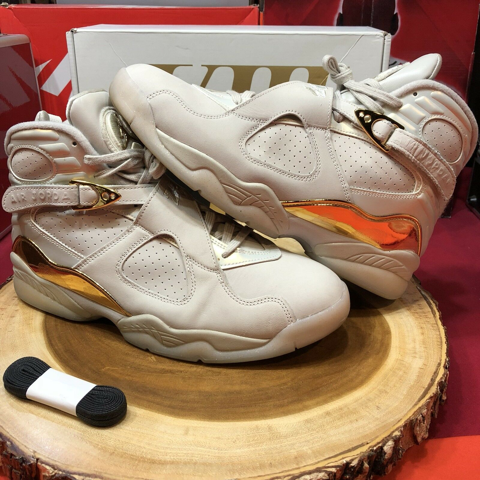 Nike Air Jordan Retro VIII 8 C&C Championship Trophy 832821 030 Comfortable New shoes for men and women, limited time discount