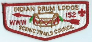 Indian Drum Lodge #152, flap