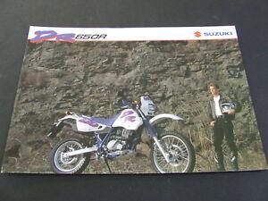 1993-Suzuki-DR650R-DR650-DR-650-foldout-Brochure