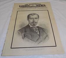 4/5/1884 ILLUSTRATED LONDON NEWS/Death-Duke of Albany,Prince Leopold/War Sudan