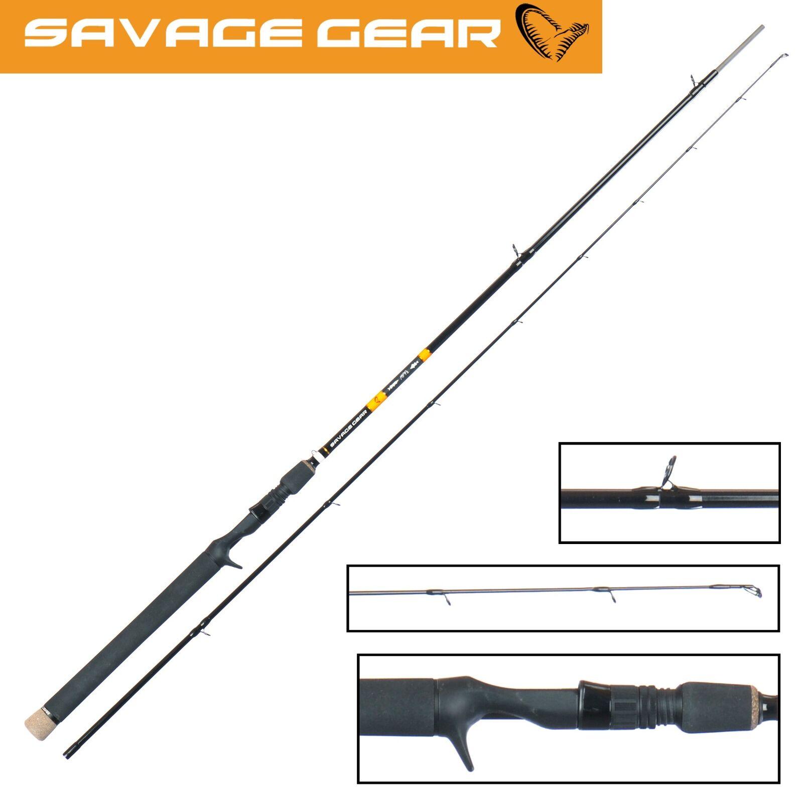 Savage Gear MPP2 Triggerrute 221cm 20-60g - Spinnrute, Hechtrute, Spinnangelrute