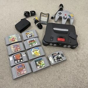 Nintendo 64 N64 System Console Bundle NUS-001 USA Tested + 9 Games Expansion Pac