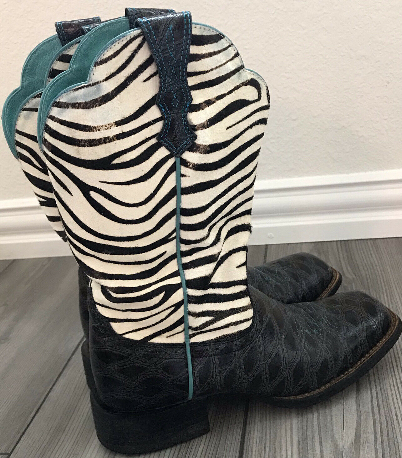 Ariat Women's Quickdraw Western Boots Anteater Ze… - image 4