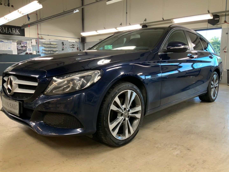 Mercedes-Benz C200 2,0 stc. aut.