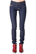 DIESEL W28 Women's Livier 0801K STRETCH Low Waist Slim Jegging Jeans From POPPRI