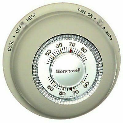 Honeywell Home/Bldg Center T87N1000 Round Heat/Cool Thermost