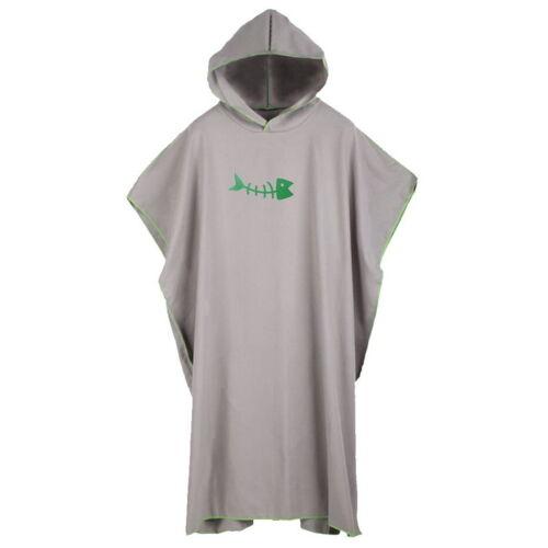 Adult Kids Hooded Poncho Towel Changing Robe-Beach Towel-Surf Kitesurf Large UK