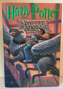 HARRY POTTER AND THE PRISONER OF AZKABAN 1ST EDITION 10TH PRINTING 1999