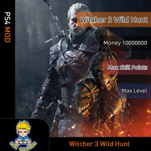 Witcher-3-Wild-Hunt-PS4-Mod-Max-Money-Level-Skill-points