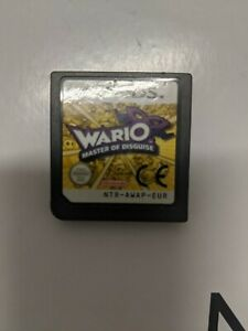 Authentic-WARIO-MASTER-OF-DISGUISE-NINTENDO-DS-GAME-OZ-Seller-Free-Postage