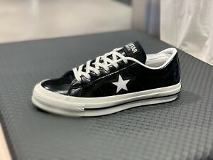 Details about CONVERSE ONE STAR HANBYEOL OX Shoes Sneakers Original Black 165741C