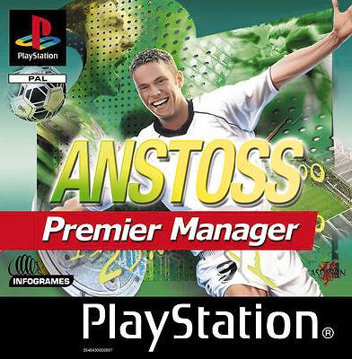 Anstoss Premier Manager für PSX Erstauflage komplett
