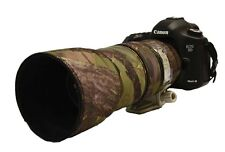 Canon 100 400mm IS MK1 Neoprene Lens Protection Camouflage Cover:Green camo
