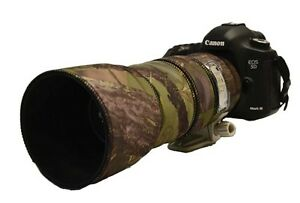 Canon-100-400mm-IS-MK1-Neoprene-Lens-Protection-Camouflage-Cover-Woodland-camo