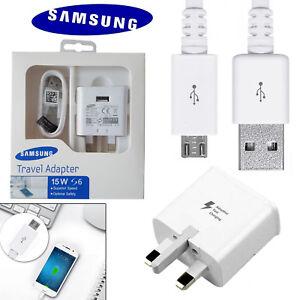 SAMSUNG FAST Charger Plug & Micro Cable