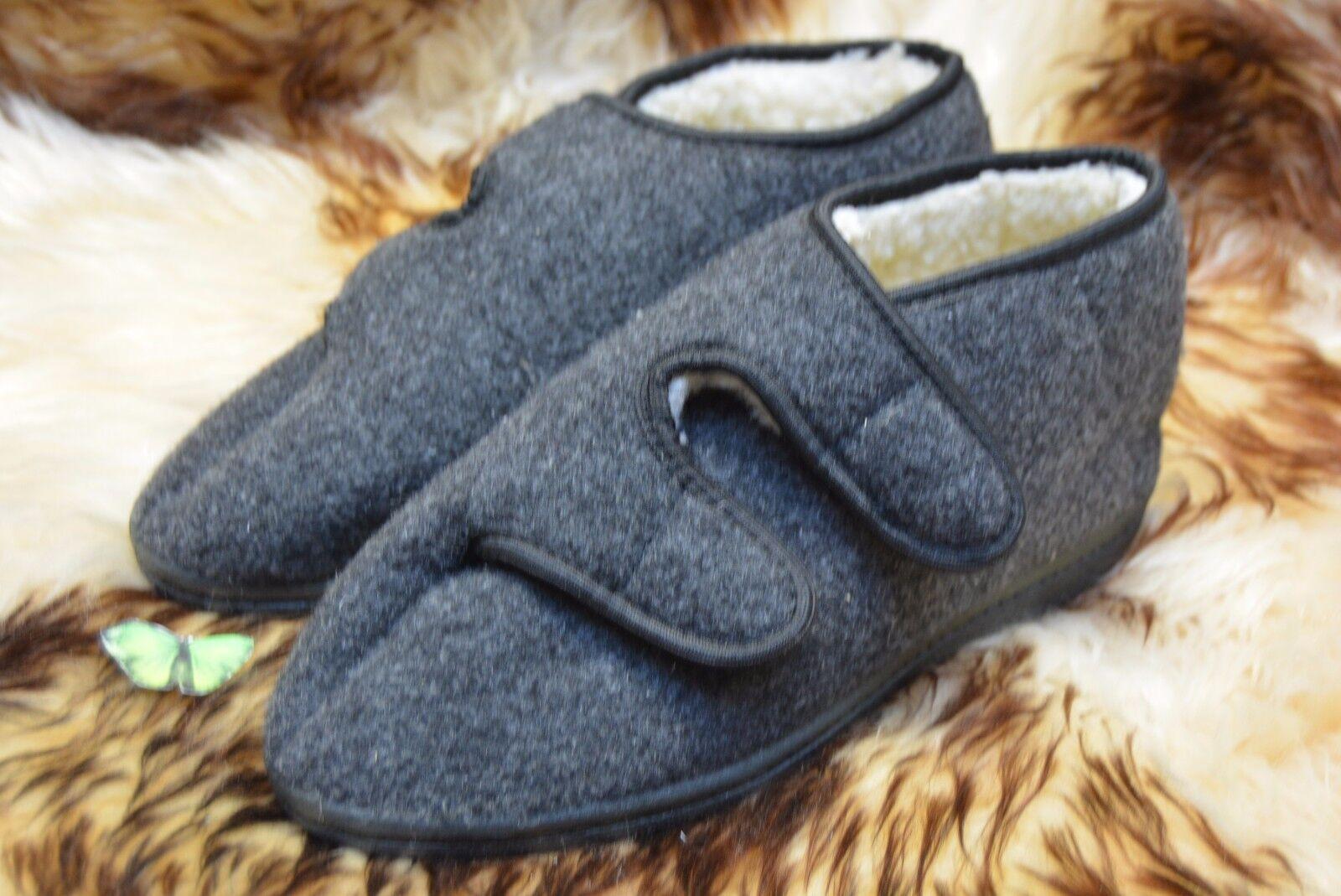 Hombre  sheeps wool / felt Talla slippers Botas very warm Talla felt 7-12 c3befd