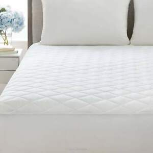 Cal-King-Quilted-Mattress-Protector-Pad-Topper-Cover-16-034-Deep-Fitted-Bed-Sheet