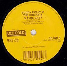 "BUDDY HOLLY - Maybe Baby 7"" 45"