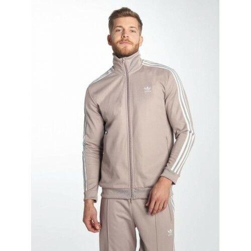 3s Top Sports deportivas Stripes Zip 3 Hombre Originals Chᄄᄁndal beige Up Chaquetas Adidas xwqH7vRZn