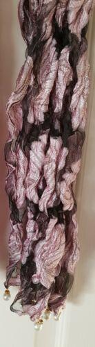 Indiano Pakistano Donna Dupatta chunri VINTAGE A Collo Sciarpa Gratuito UK Consegna