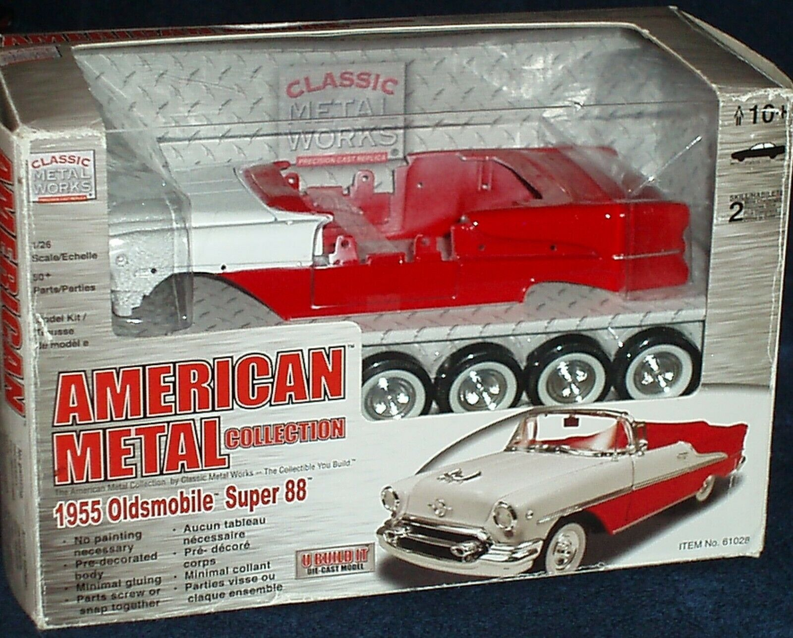 CLASSIC METAL WORKS 1955 OLDSMOBILE SUPER 88 CONGrünABLE ASSEMBLY KIT 1 26