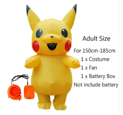 2019 Cute Adult and kid Mascot Inflatable Costume Cosplay Halloween Funny Dress