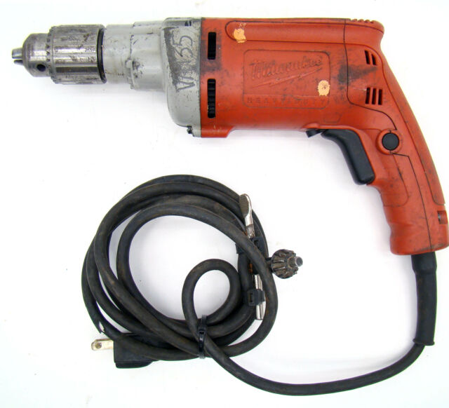 Milwaukee 1//2 in 850 RPM Magnum Drill Driver Corded Keyed Variable Speed