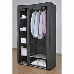 Non-Woven-Deluxe-Multi-Compartment-Wardrobe-New-Improved-Quality-G320126