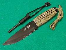 """SURVIVOR HK-106C Green cord full tang 7 3/4"""" overall / fire starter M4007 NEW"""