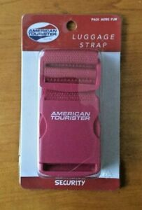 American-Tourister-Security-Luggage-Strap-Red-or-Green-FREE-SHIPPING