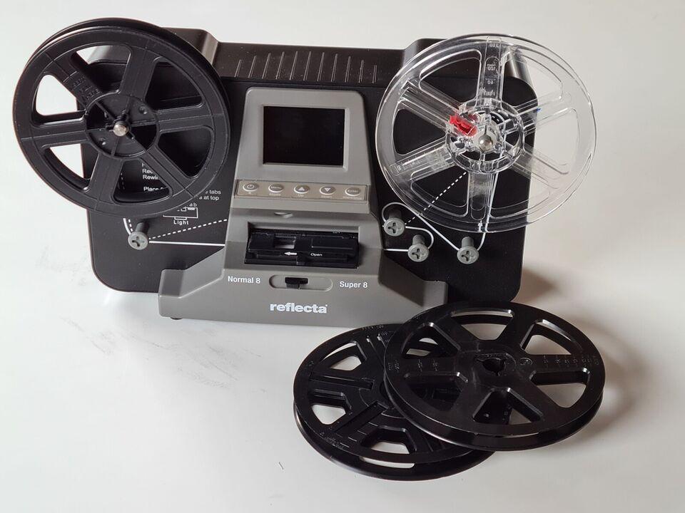 Film scanner, Reflecta, Film Scanner Super 8 - Normal 8