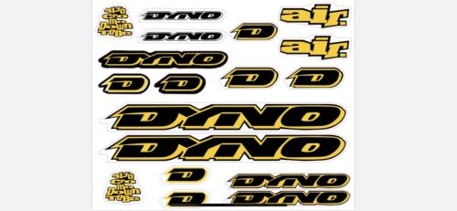Dyno Air 1994 Decal Set Stickers Old school BMX restauration