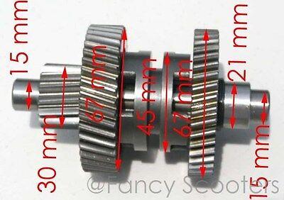 150cc GY6 157QMJ ATV engine W//REVERSE Transmission Gear SHAFT FINAL ASSY GEAR