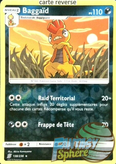 SL11 VF Français 163//236/_R Pokemon Reverse Kangourex