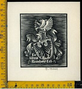 Ex Libris Originale C 183 B Rudolf Riess Hc7331rc-08001840-375054097