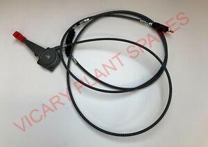 4CX JCB PARTS THROTTLE CABLE 910//60109 3CX