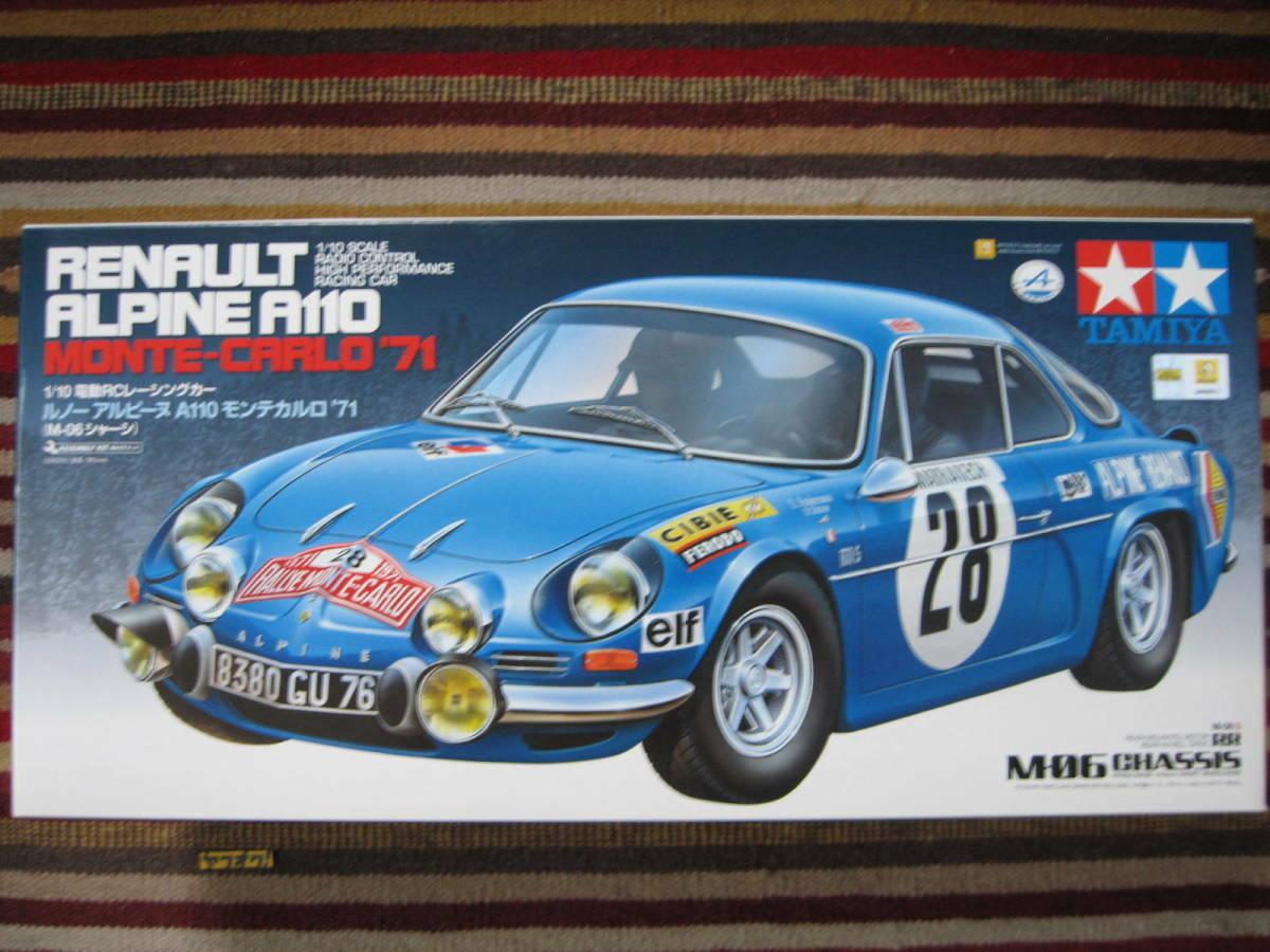 Tamiya 1 10 RENAULT Renault ALPINE MONTE-CARLO M-06 '71