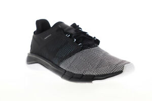Reebok Fast Flexweave CN2535 Womens Black Lace Up Athletic Running Shoes 7