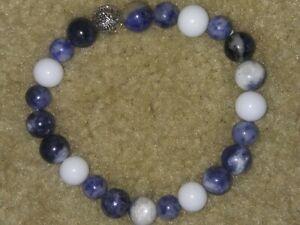 Healing-Balance-Prayer-Beaded-natural-gemstone-Bracelet-with-hollow-flower-bead