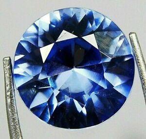 7 Carats Naturel Déguisement Coupe Bleu Cachemire Saphir Libre Pierre Précieuse