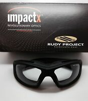 Rudy Project Guardyan Matte Black Impactx Clear Photochromic In Box