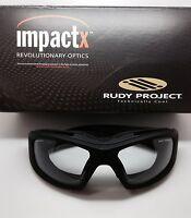 Rudy Project Guardyan Matte Black Impactx Clear Photochromic In Box
