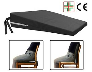 Cuscino-a-Cuneo-Ortopedico-Triangolo-per-una-Corretta-Seduta-Rialzo-Sedile-Auto